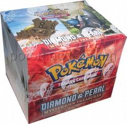 Pokemon TCG: Diamond & Pearl - Mysterious Treasures Theme Starter Deck Box
