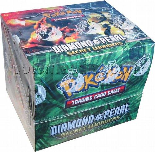 Pokemon TCG: Diamond & Pearl - Secret Wonders Theme Starter Deck Box