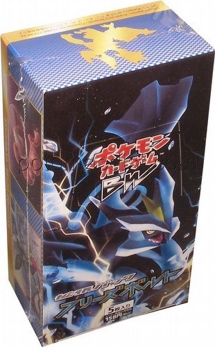 Pokemon: Freeze Bolt Booster Box [Japanese/BW6/1st Edition]