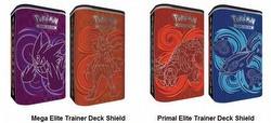 Pokemon TCG: 2015 Elite Trainer Deck Shield Tin Case [12 tins]