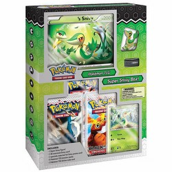 Pokemon TCG: Super Snivy Starter Figure Set Box