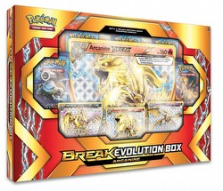 Pokemon TCG: BREAK Evolution Arcanine Box