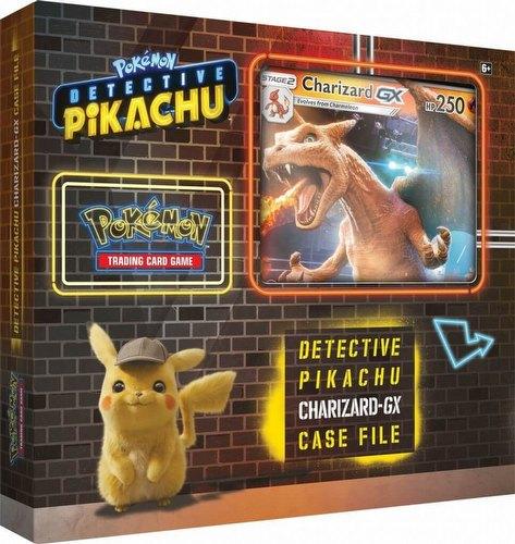 Pokemon TCG: Detective Pikachu Charizard-GX Special Case File Box