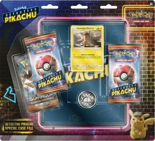 Pokemon TCG: Detective Pikachu Special Case File Box