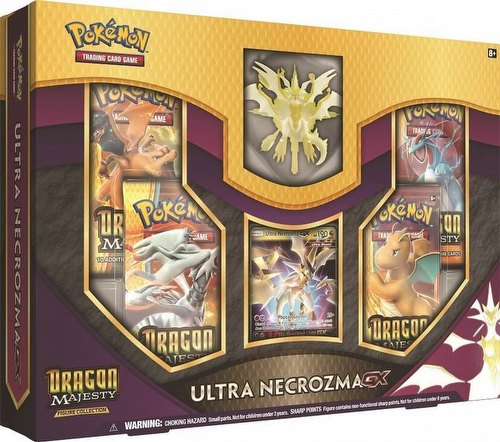 Pokemon TCG: Dragon Majesty Ultra Necrozma-GX Figure Collection Box
