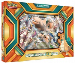 Pokemon TCG: Dragonite-EX Box