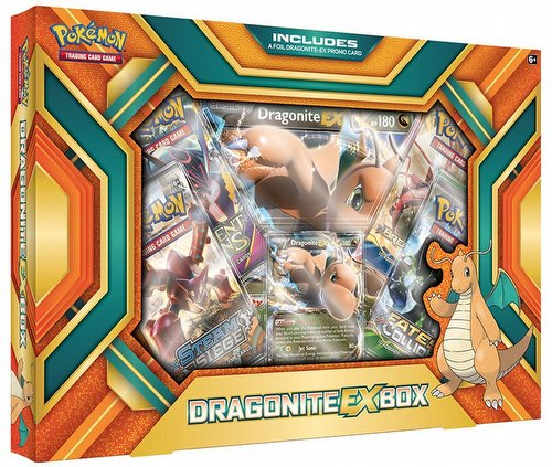 Pokemon TCG: Dragonite-EX Case [12 boxes]