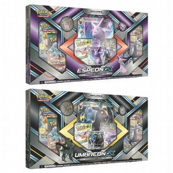 Pokemon TCG: Espeon-GX & Umbreon-GX Premium Collection Set [2 boxes/1 of each]