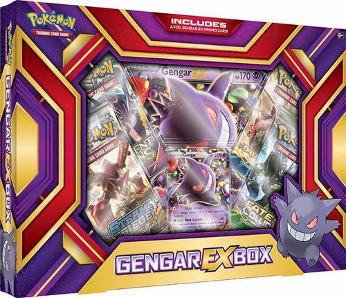 Pokemon TCG: Gengar-EX Case [12 boxes]