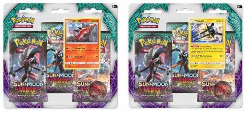 Pokemon TCG: Sun & Moon Guardians Rising 3-Pack Blister Booster Set [2 packs]