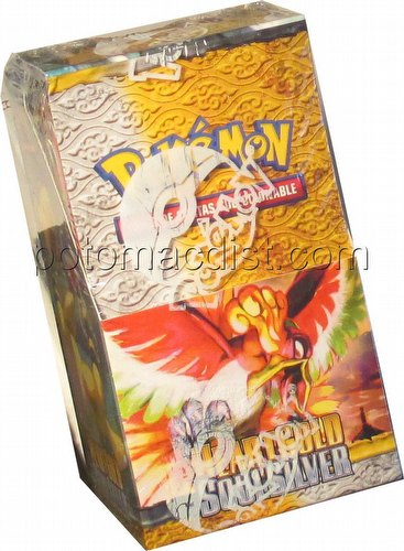 Pokemon TCG: HeartGold & SoulSilver Booster Box [Spanish/18 packs/10 cards per pack]