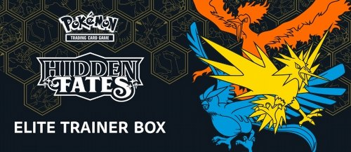 Pokemon TCG: Hidden Fates Elite Trainer Box