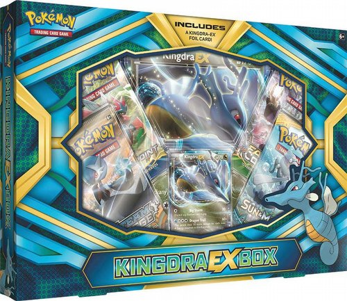 Pokemon TCG: Kingdra-EX Box