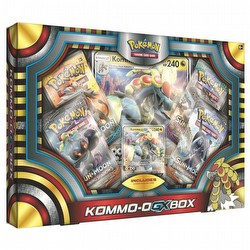Pokemon TCG: Kommo-O-GX Box