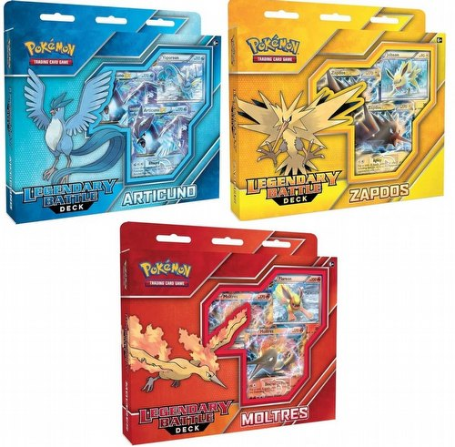 Pokemon TCG: Legendary Battle Deck Set [3 decks]