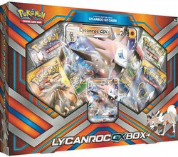 Pokemon TCG: Lycanroc-GX Box