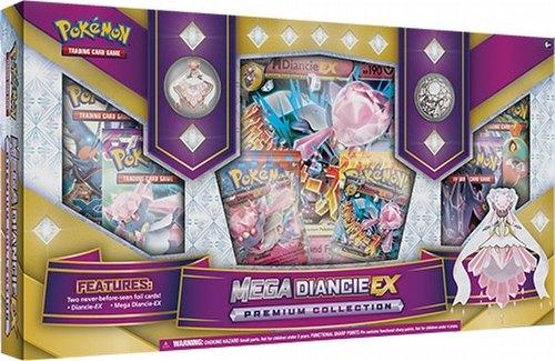 Pokemon TCG: Mega Diancie-EX Box
