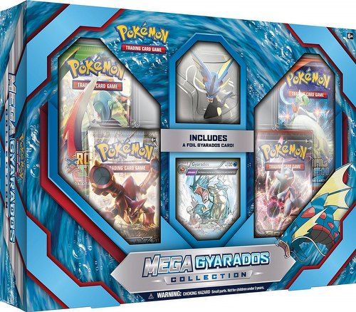 Pokemon TCG: Mega Gyarados Collection Box