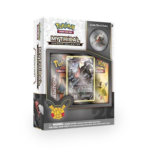 Pokemon TCG: Mythical Pokemon Collection - Darkrai Box
