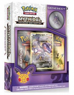 Pokemon TCG: Mythical Pokemon Collection - Genesect Box