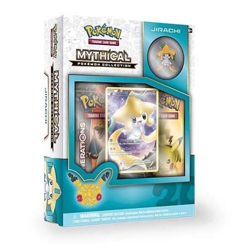 Pokemon TCG: Mythical Pokemon Collection - Jirachi Box