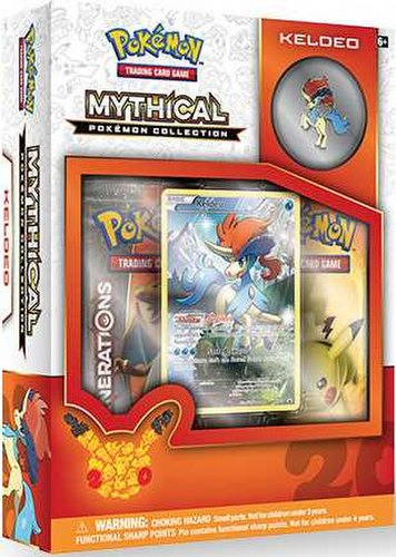 Pokemon TCG: Mythical Pokemon Collection - Keldeo Case [24 boxes]