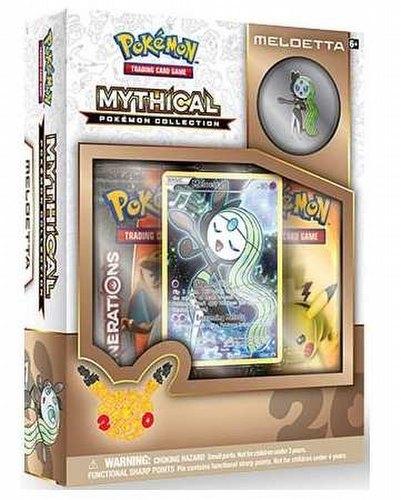Pokemon TCG: Mythical Pokemon Collection - Meloetta Box
