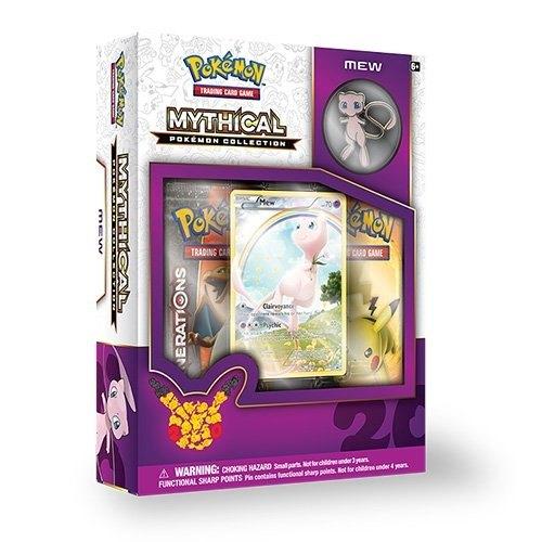 Pokemon TCG: Mythical Pokemon Collection - Mew Box