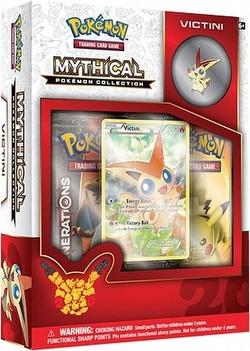 Pokemon TCG: Mythical Pokemon Collection - Victini Case [24 boxes]