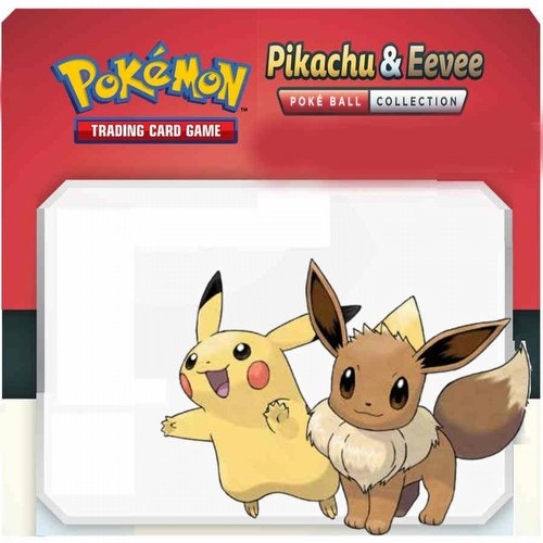 Pokemon TCG: Pikachu & Evee Poke Ball Collection Box