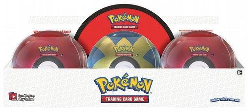 Pokemon TCG: 2018 Poke Ball Tin Case [6 Tins]