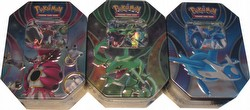 Pokemon TCG: Powers Beyond Tin Set [3 tins]