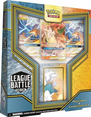 Pokemon TCG: Reshiram & Charizard-GX League Battle Deck Box