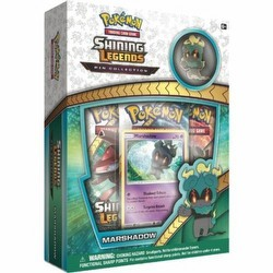 Pokemon TCG: Shining Legends Marshadow Pin Collection Case [24 boxes]