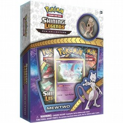 Pokemon TCG: Shining Legends Mewtwo Pin Collection Box