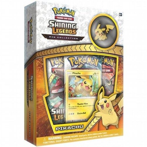 Pokemon TCG: Shining Legends Pikachu Pin Collection Box