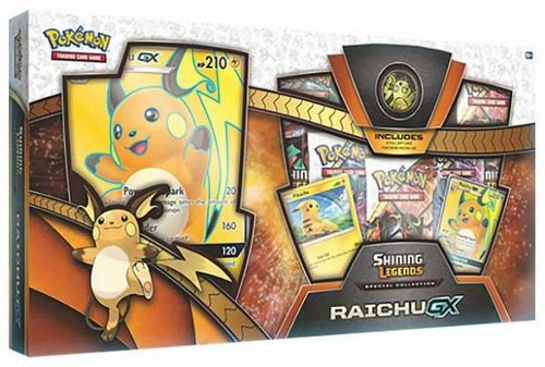 Pokemon TCG: Shining Legends Special Collection Raichu-GX Case [12 boxes]
