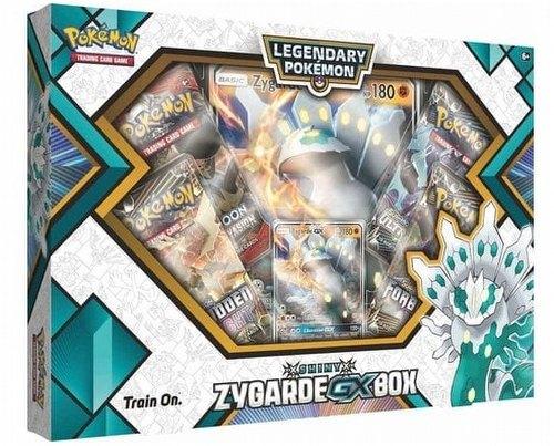 Pokemon TCG: Shining Legends Shiny Zygarde-GX Figure Collection Box
