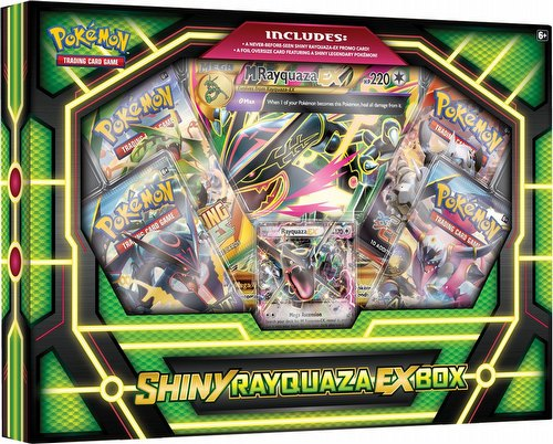 Pokemon TCG: Shiny Rayquaza-EX Case [12 boxes]