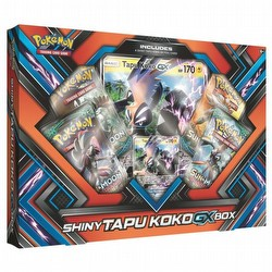 Pokemon TCG: Shiny Tapu Koko-GX Box