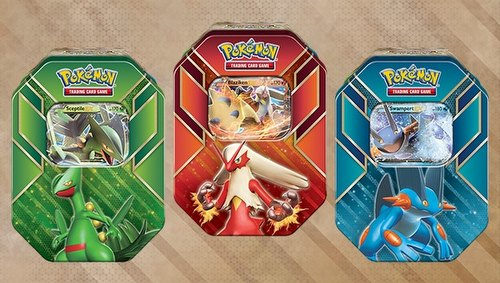 Pokemon TCG: Hoenn Power Tin Set [3 tins/Summer 2015]