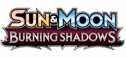 Pokemon TCG: Sun & Moon Burning Shadows Theme Starter Deck Box
