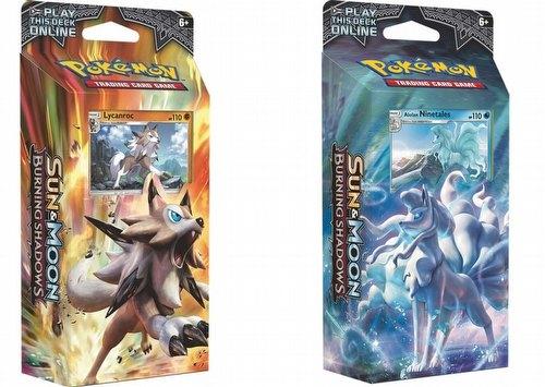Pokemon TCG: Sun & Moon Burning Shadows Theme Starter Deck Set [2 decks]