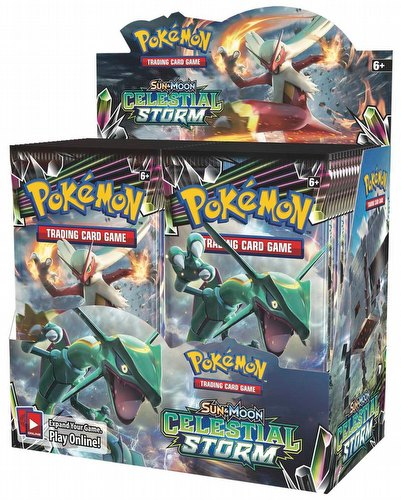 Pokemon TCG: Sun & Moon Celestial Storm Booster Box