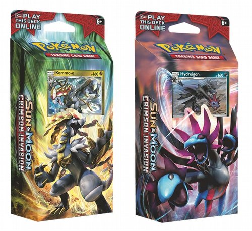 Pokemon: Sun & Moon Crimson Invasn Theme Deck Set $20