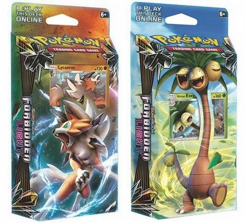 Pokemon TCG: Sun & Moon Forbidden Light Theme Starter Deck Set [2 decks]