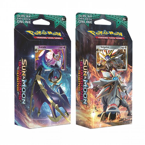 Pokemon TCG: Sun & Moon Guardians Rising Theme Starter Deck Set [2 decks]