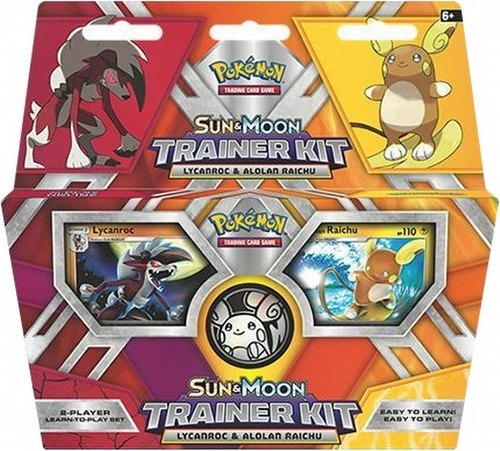 Pokemon TCG: Sun & Moon - Lycanroc & Alolan Raichu Trainer Box