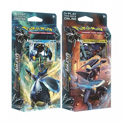 Pokemon TCG: Sun & Moon Ultra Prism Theme Starter Deck Set [2 decks]