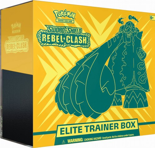 Pokemon TCG: Sword & Shield Rebel Clash Elite Trainer Box